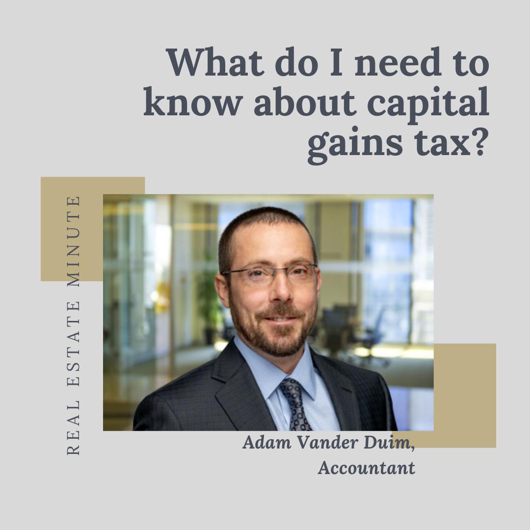 Capital Gains Tax, Owen Sound Real Estate
