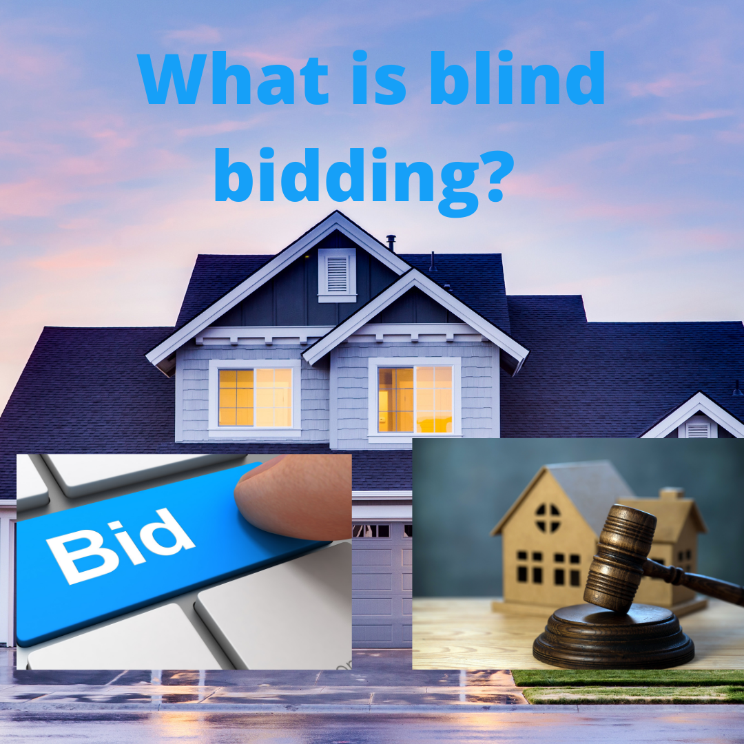What is blind bidding?